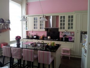 Marcia Pink Kitchen