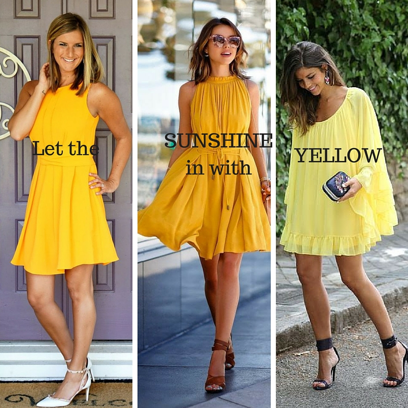 Let theSUNSHINE in with YELLOW