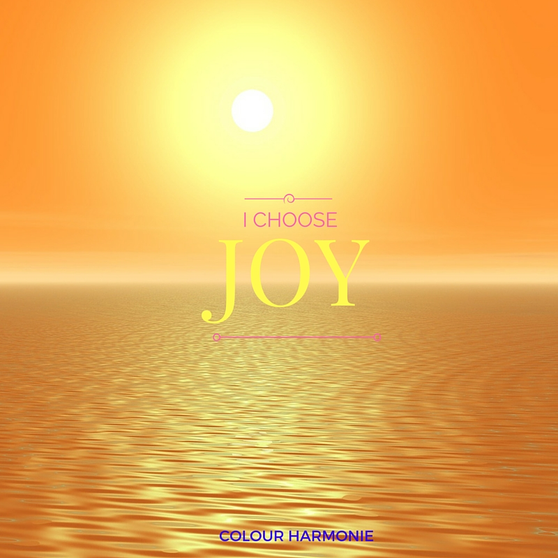 The colour of joy and its power!